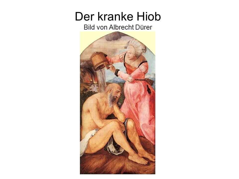 Der kranke Hiob Bild von Albrecht Dürer