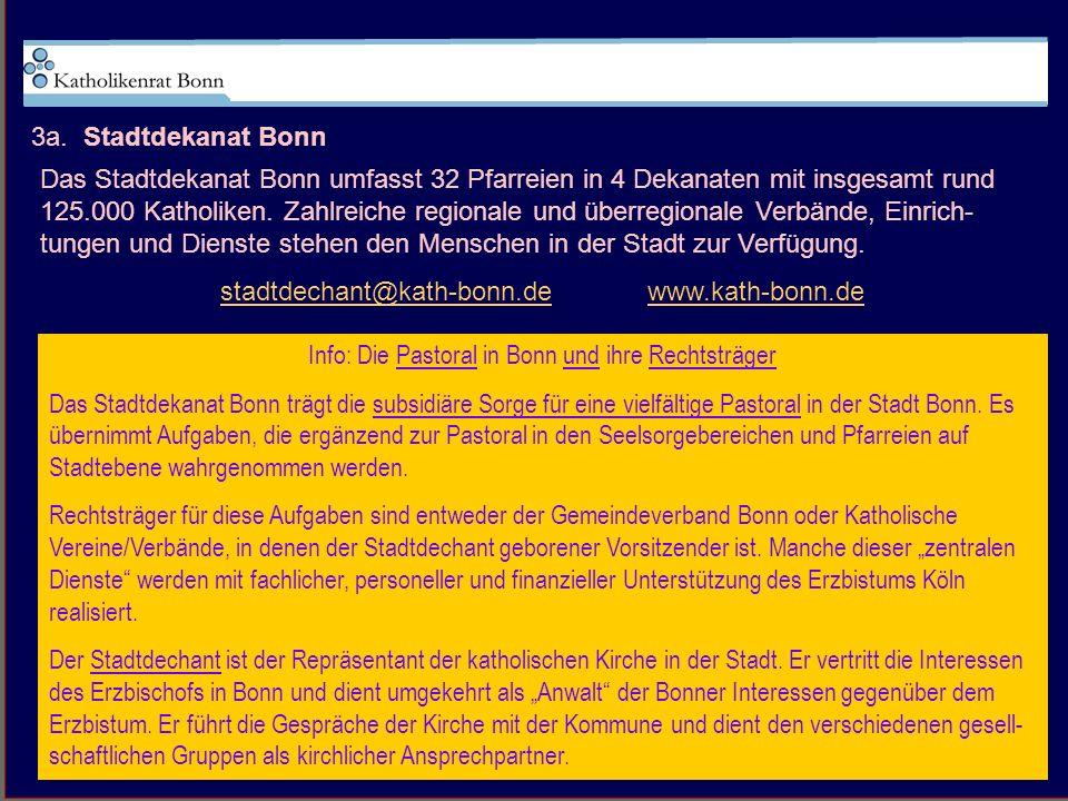 stadtdechant@kath-bonn.de www.kath-bonn.de