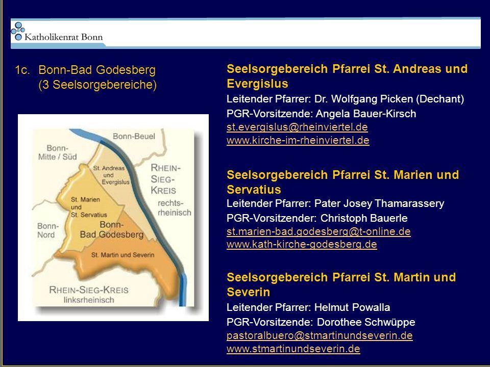 Seelsorgebereich Pfarrei St. Andreas und Evergislus