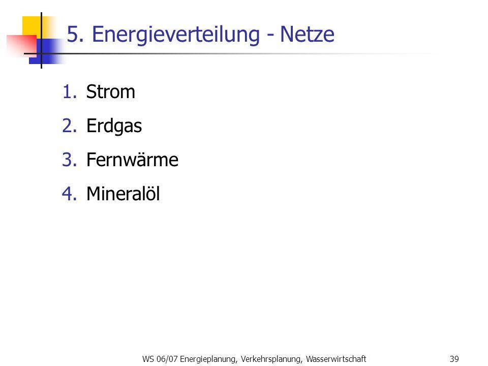 5. Energieverteilung - Netze