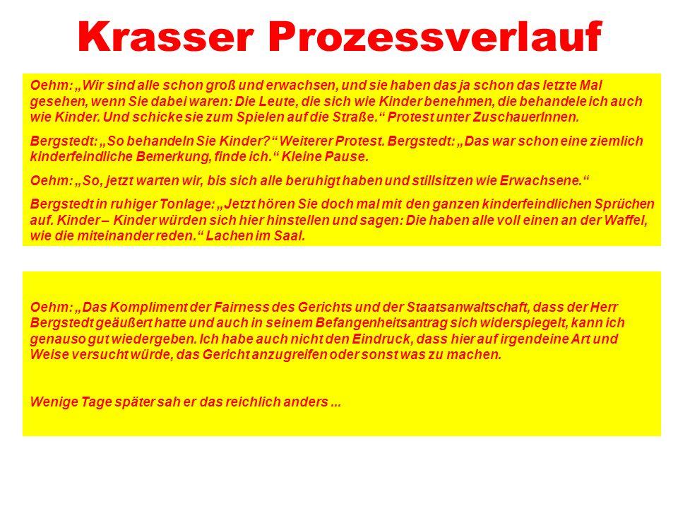 Krasser Prozessverlauf
