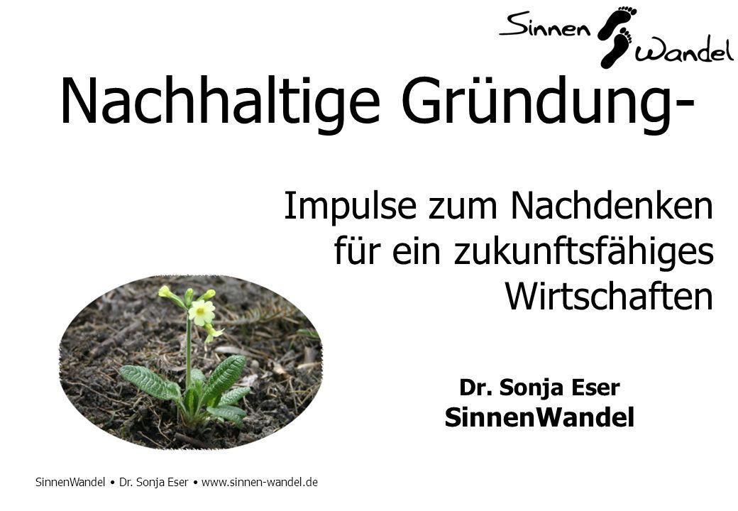 Nachhaltige Gründung-