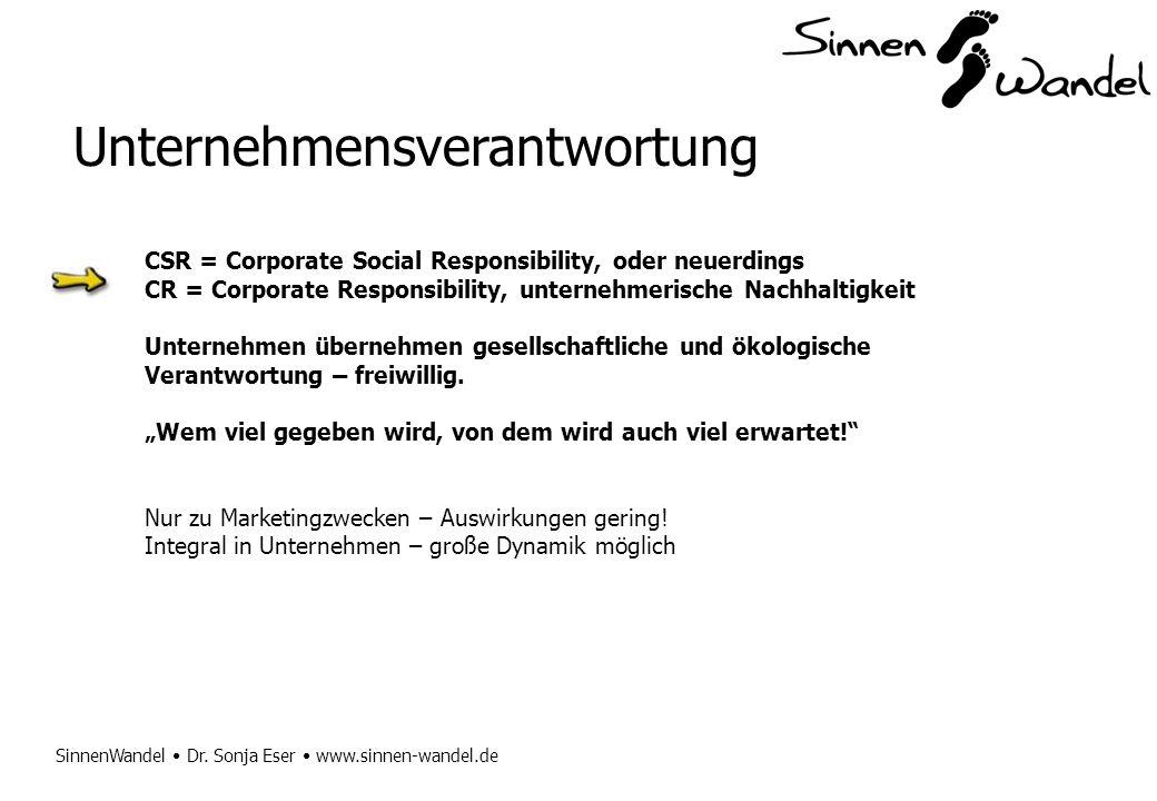 Unternehmensverantwortung