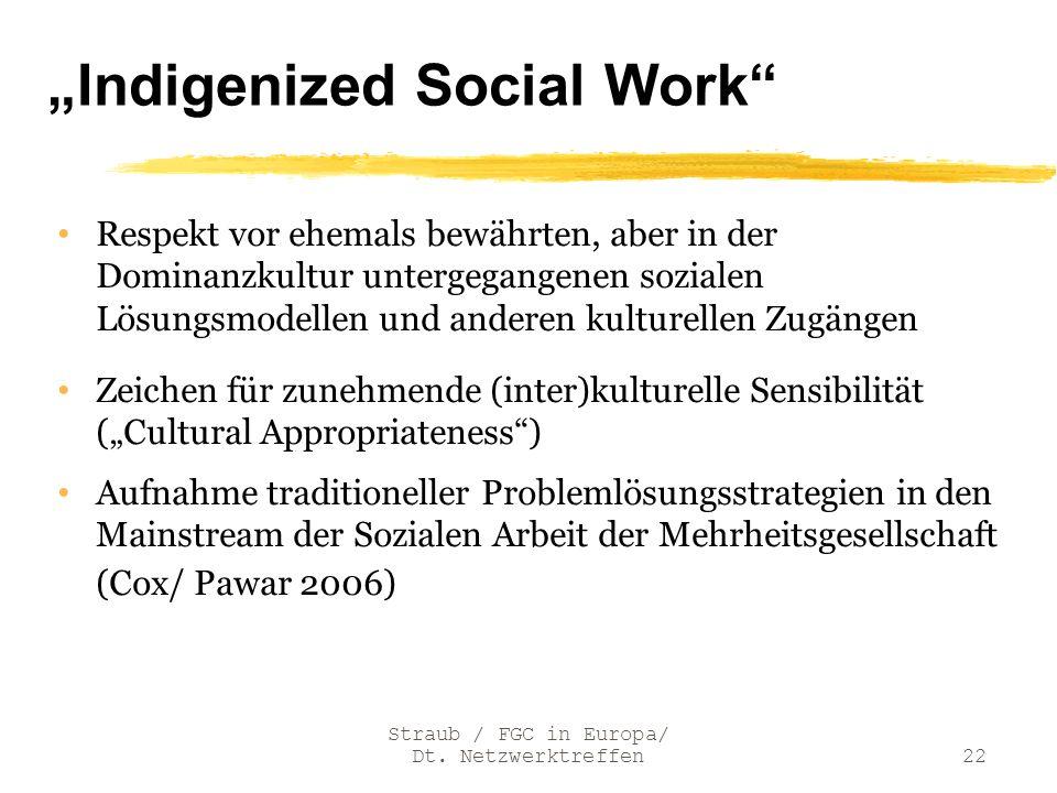 """Indigenized Social Work"
