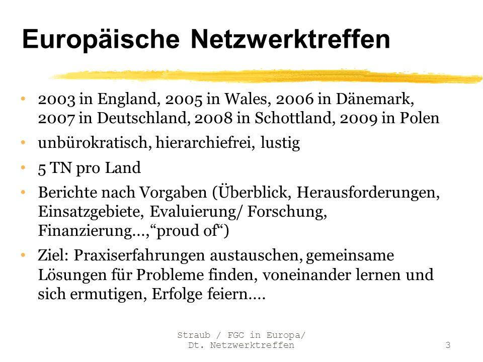 Europäische Netzwerktreffen