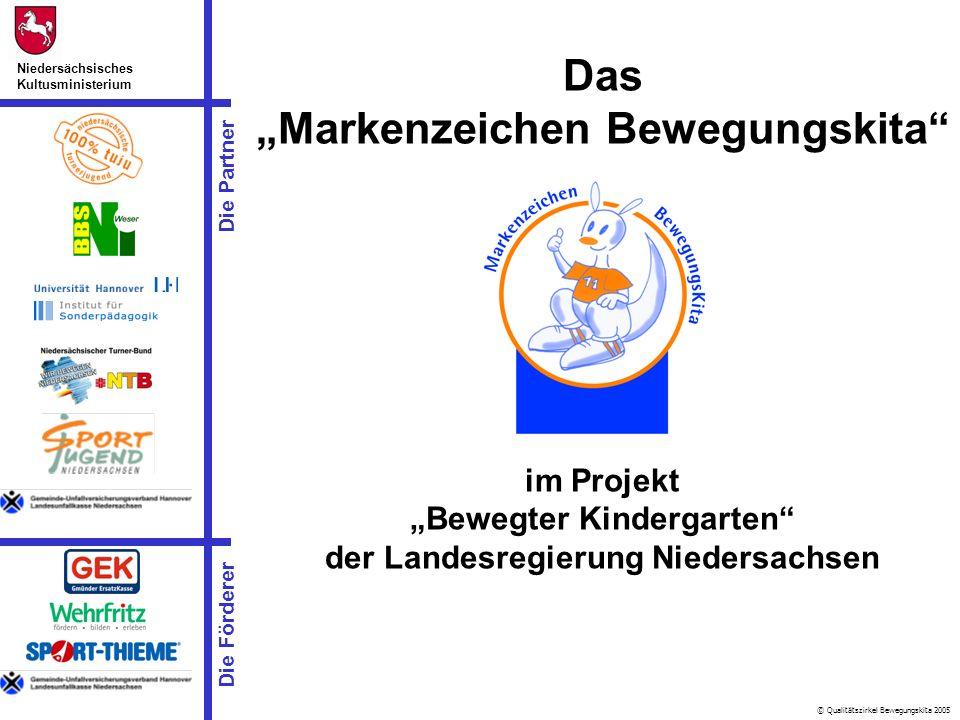 """Das """"Markenzeichen Bewegungskita"""
