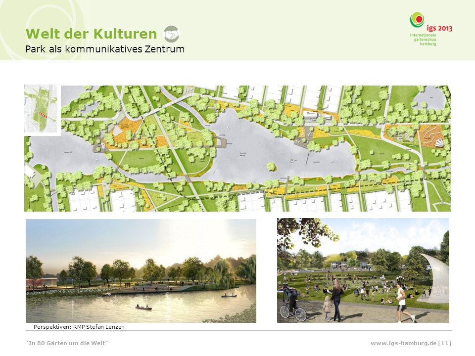 Welt der Kulturen Park als kommunikatives Zentrum