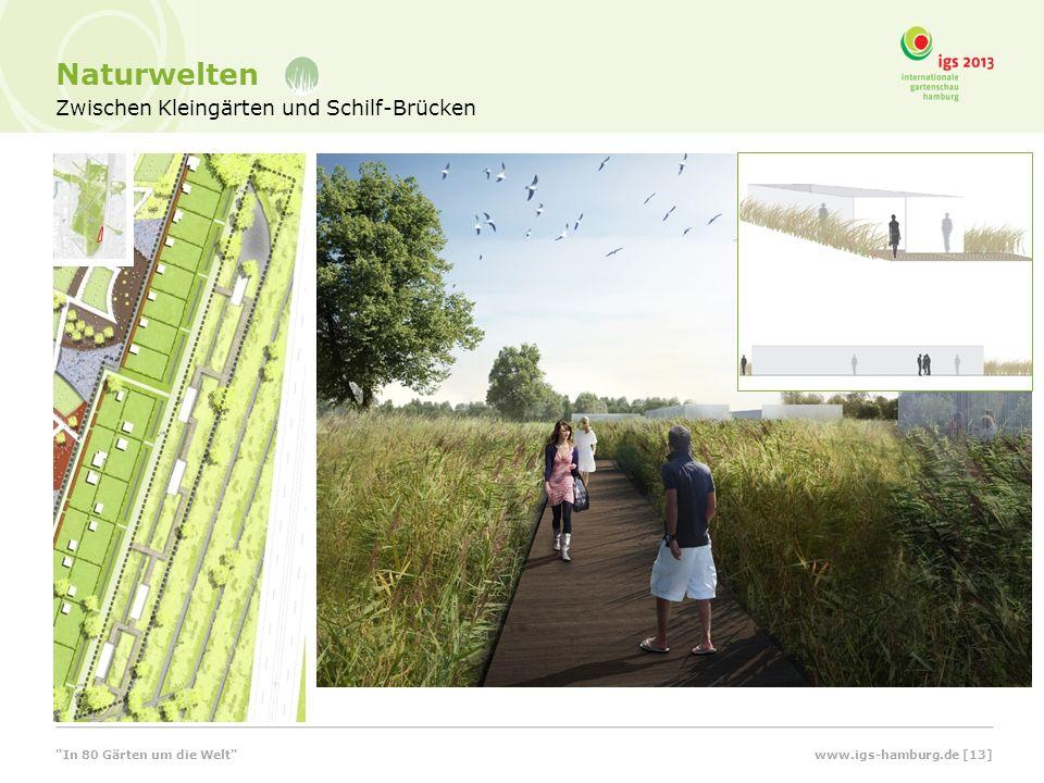 Naturwelten Zwischen Kleingärten und Schilf-Brücken