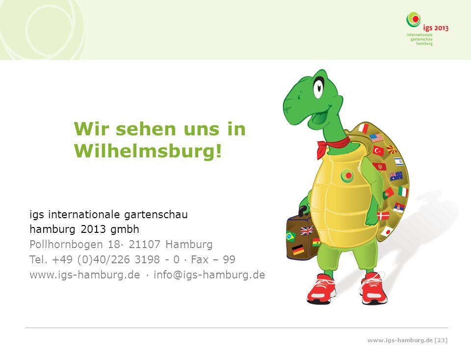 Wir sehen uns in Wilhelmsburg!
