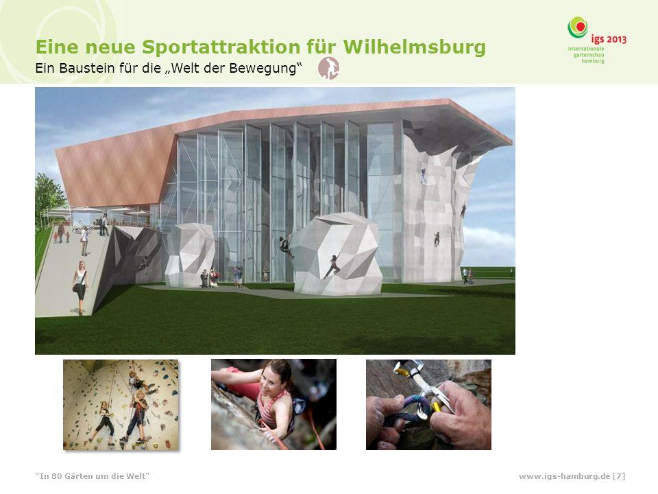 Eine neue Sportattraktion für Wilhelmsburg