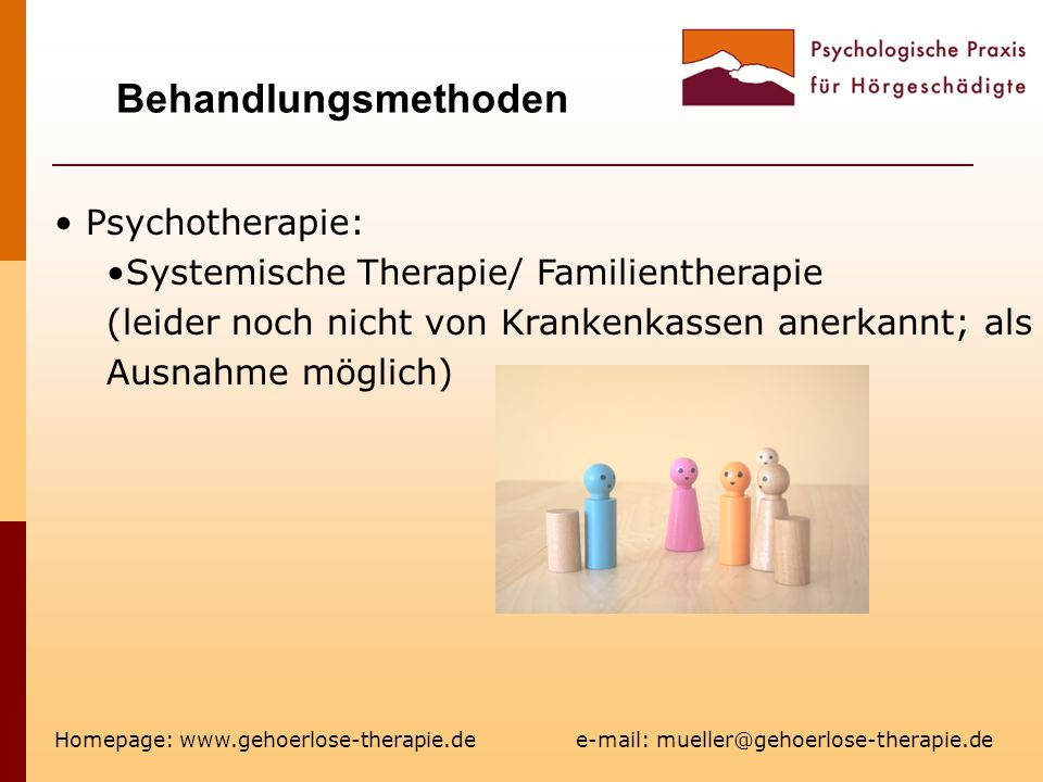 Behandlungsmethoden Psychotherapie: