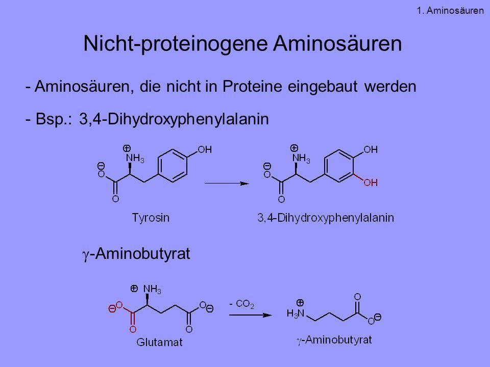 Nicht-proteinogene Aminosäuren