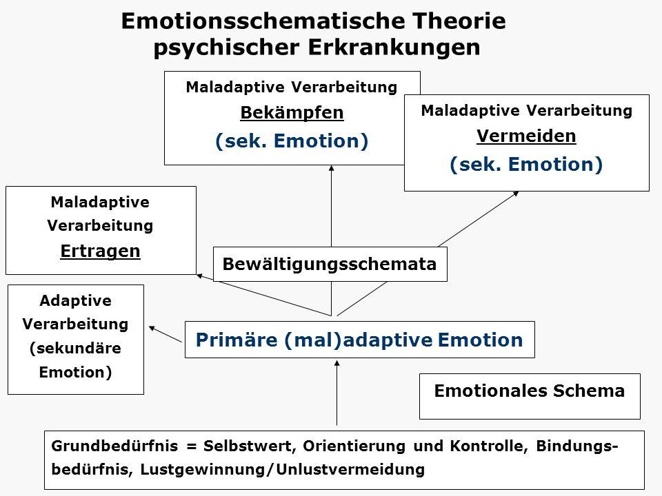 Emotionsschematische Theorie psychischer Erkrankungen