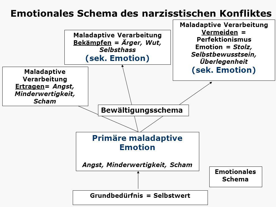 Emotionales Schema des narzisstischen Konfliktes
