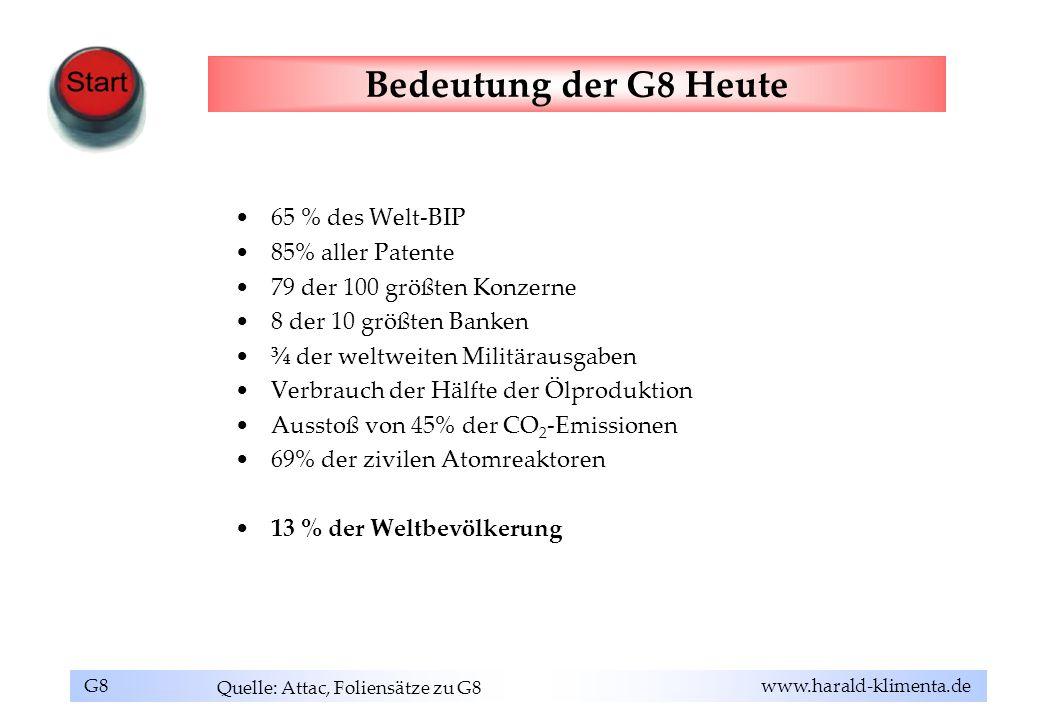 Quelle: Attac, Foliensätze zu G8