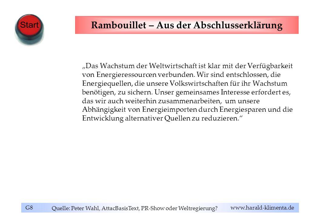 Rambouillet – Aus der Abschlusserklärung