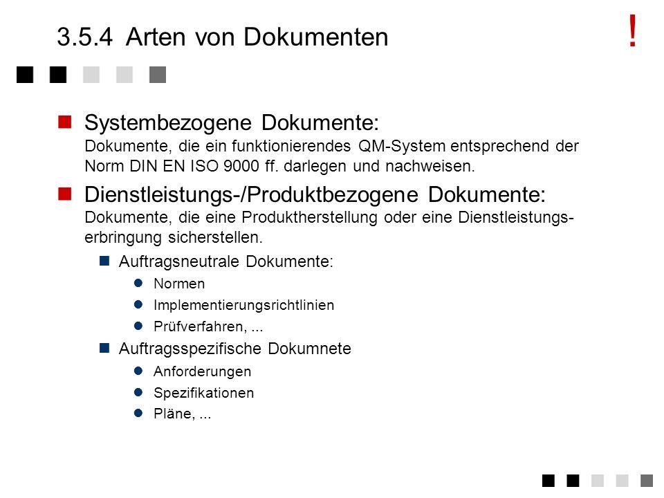 !3.5.4 Arten von Dokumenten.
