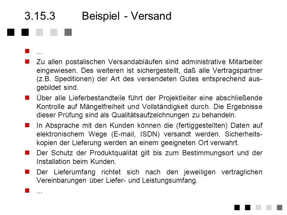 3.15.3 Beispiel - Versand...