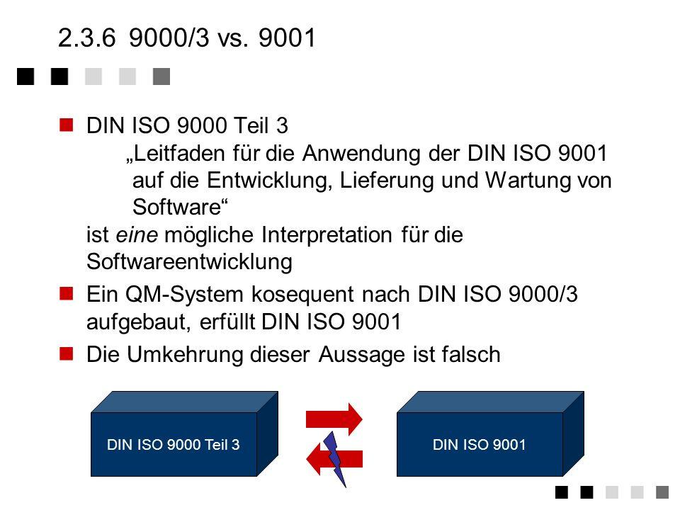 2.3.6 9000/3 vs. 9001