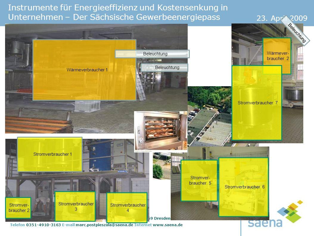Beleuchtung Wärmeverbraucher 1. Wärmever-braucher 2. Stromverbraucher 1. Stromver-braucher 5. Stromver-braucher 2.