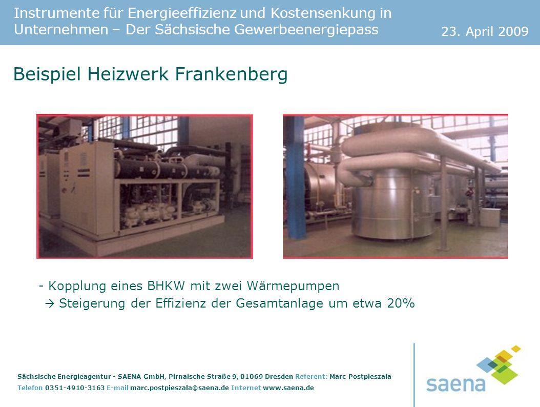 Beispiel Heizwerk Frankenberg
