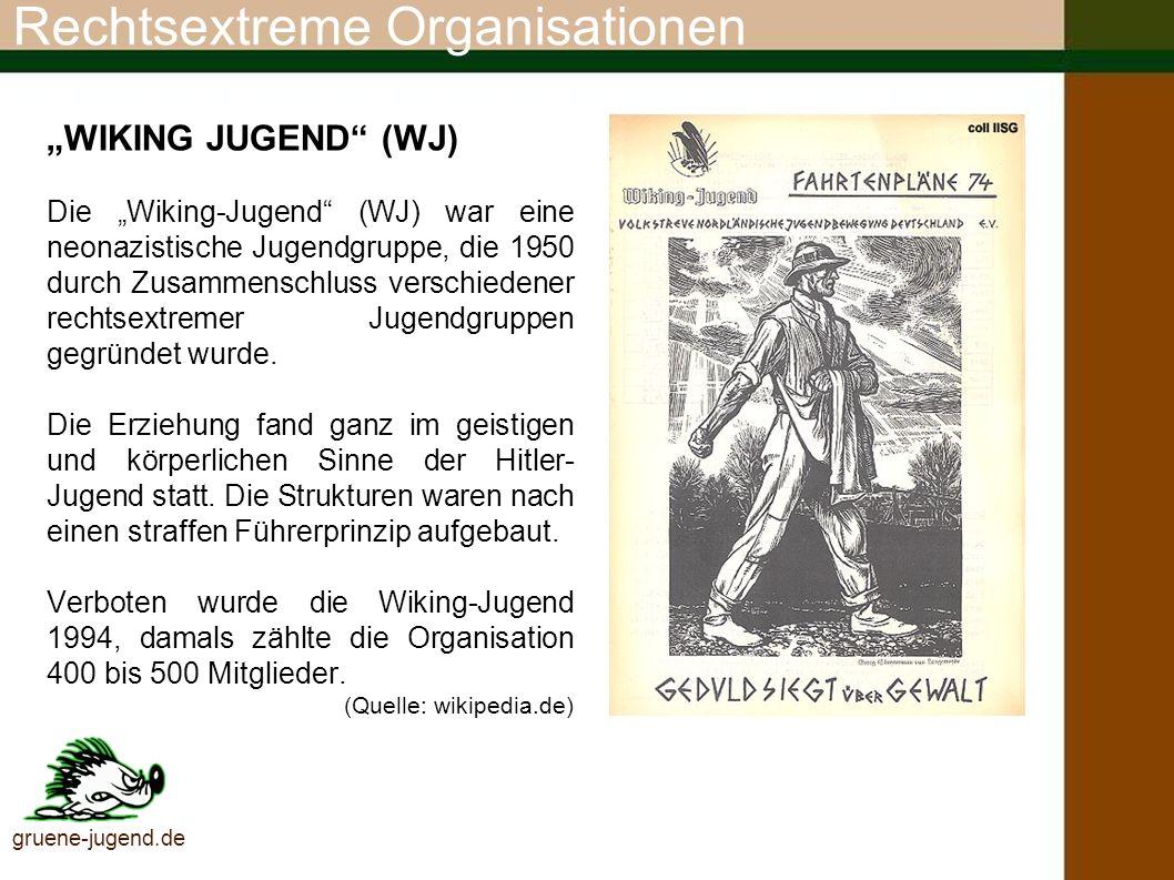 Rechtsextreme Organisationen