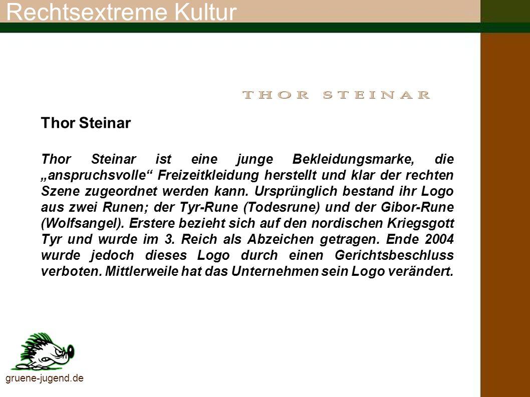 Rechtsextreme Kultur Thor Steinar