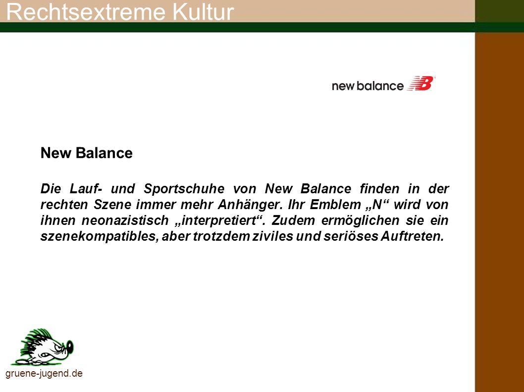 Rechtsextreme Kultur New Balance