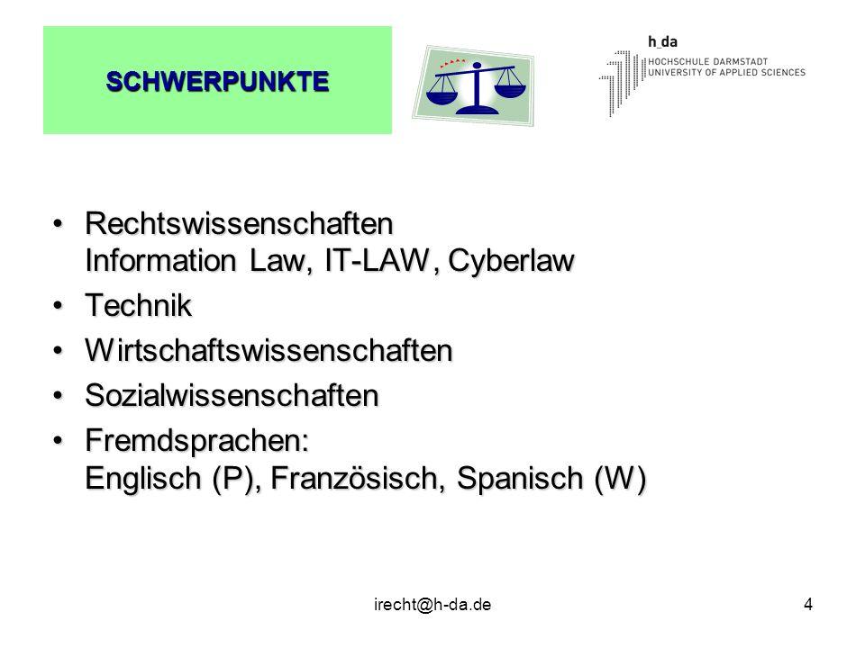 Rechtswissenschaften Information Law, IT-LAW, Cyberlaw Technik