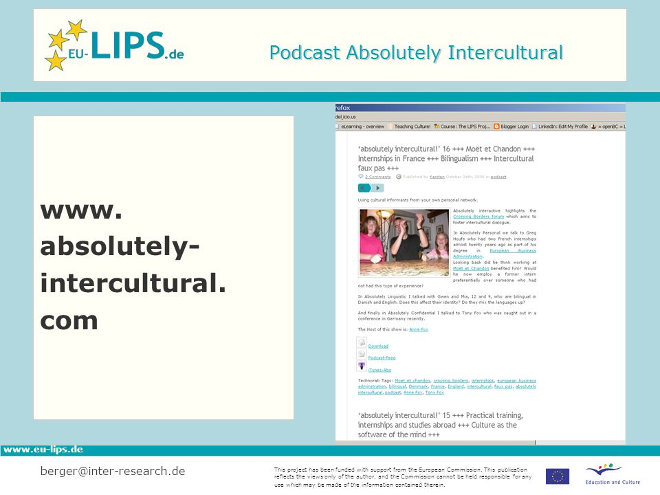 Podcast Absolutely Intercultural