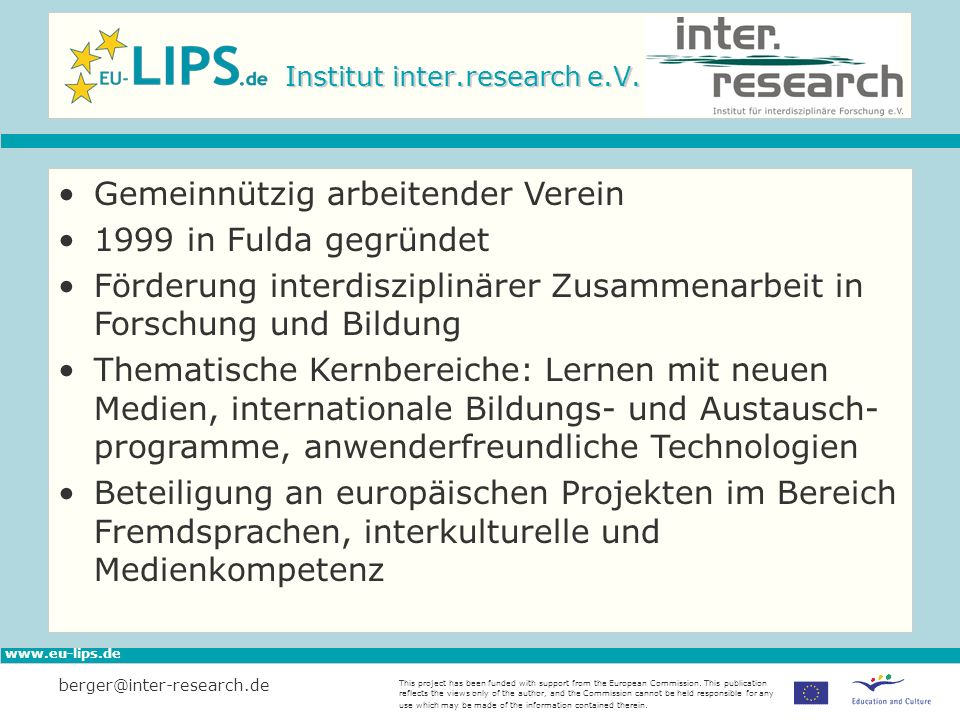 Institut inter.research e.V.