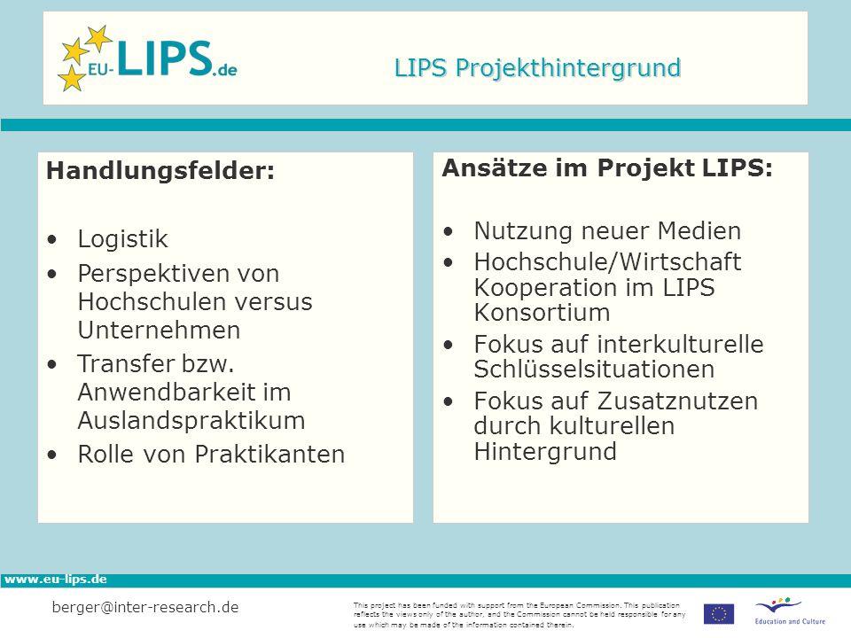LIPS Projekthintergrund