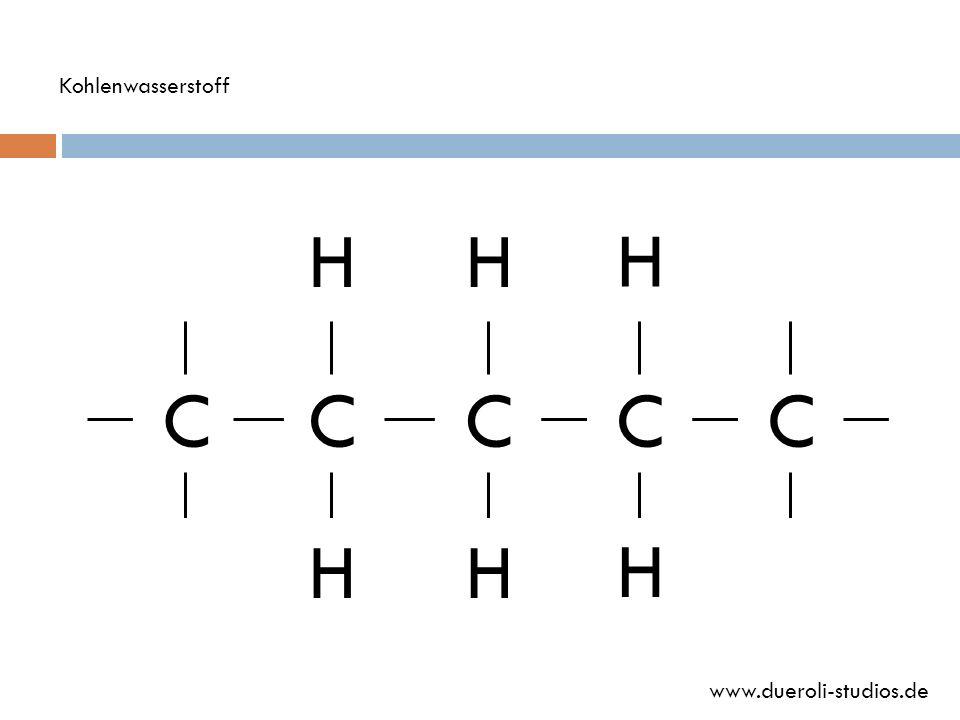 Kohlenwasserstoff H H H C C C C C H H H www.dueroli-studios.de