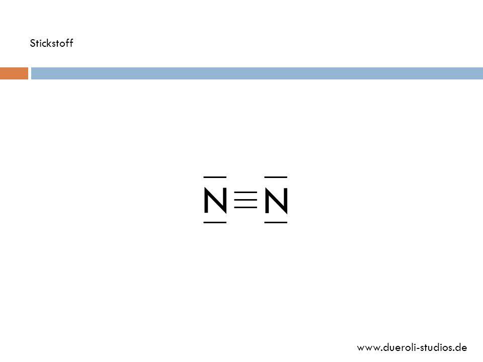 Stickstoff N N www.dueroli-studios.de