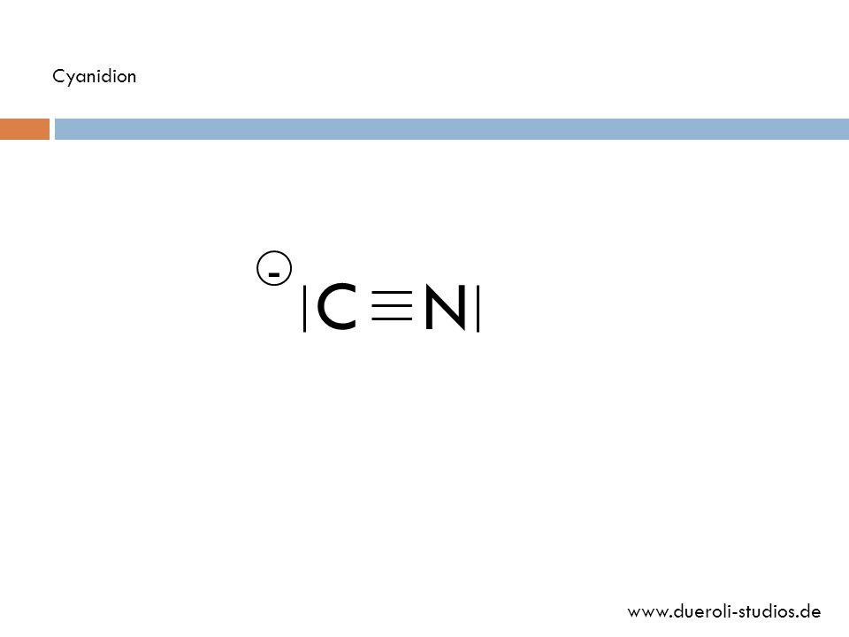 Cyanidion - C N www.dueroli-studios.de