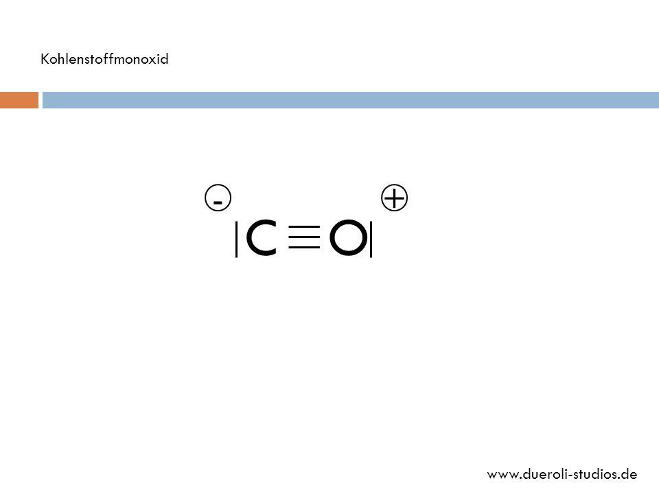 Kohlenstoffmonoxid - + C O www.dueroli-studios.de