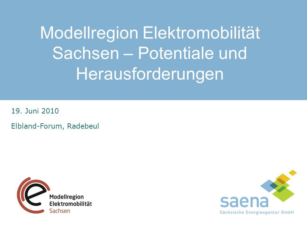 Modellregion Elektromobilität Sachsen