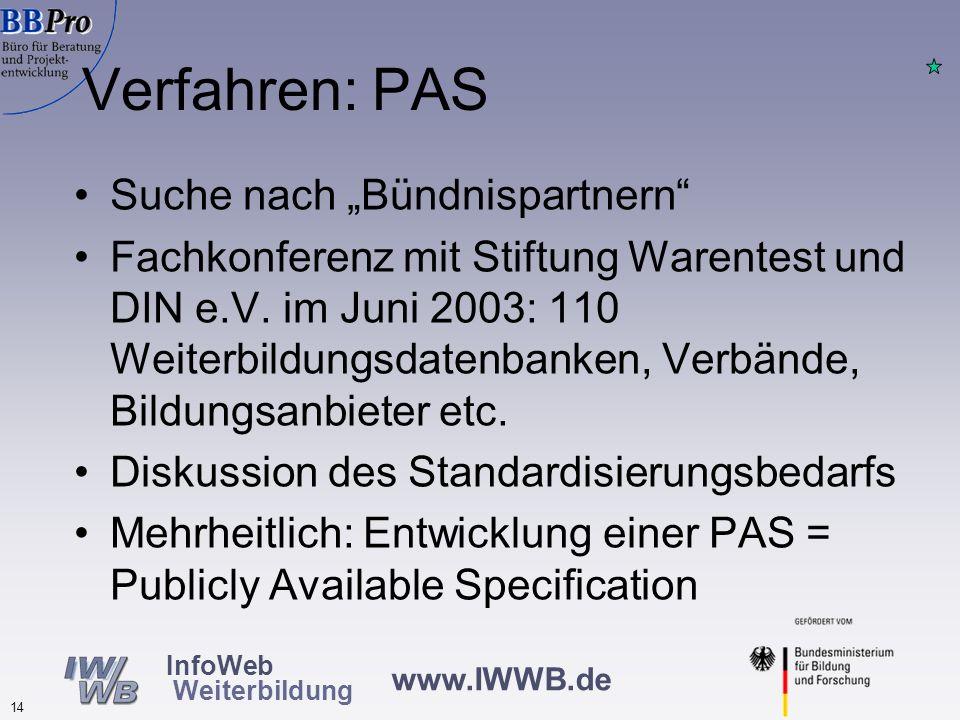 """Verfahren: PAS Suche nach """"Bündnispartnern"""