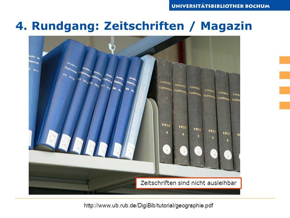 Zeitschriften sind nicht ausleihbar