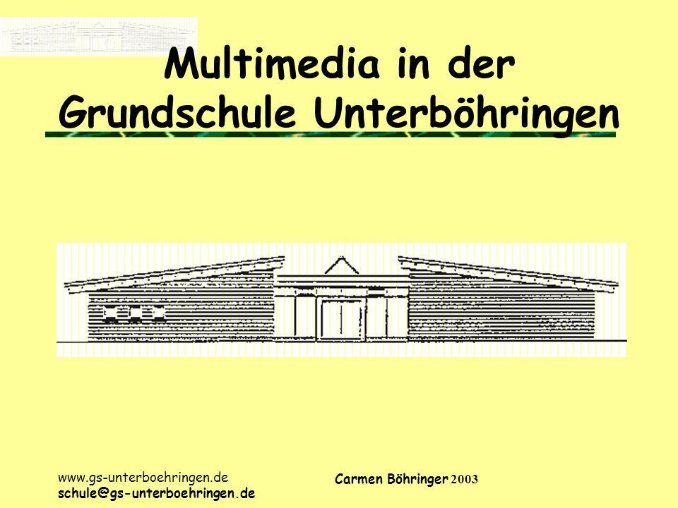 Multimedia in der Grundschule Unterböhringen
