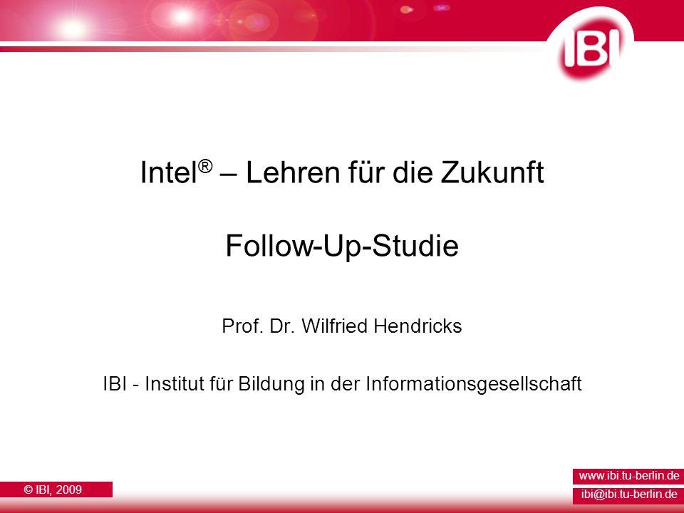 Intel® – Lehren für die Zukunft Follow-Up-Studie