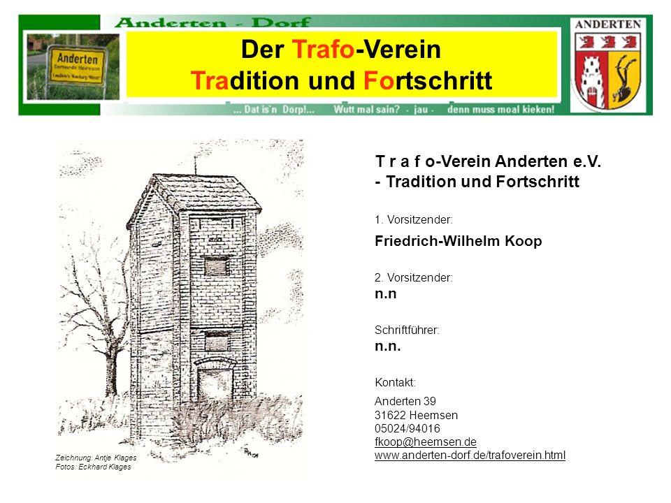 Der Trafo-Verein Tradition und Fortschritt