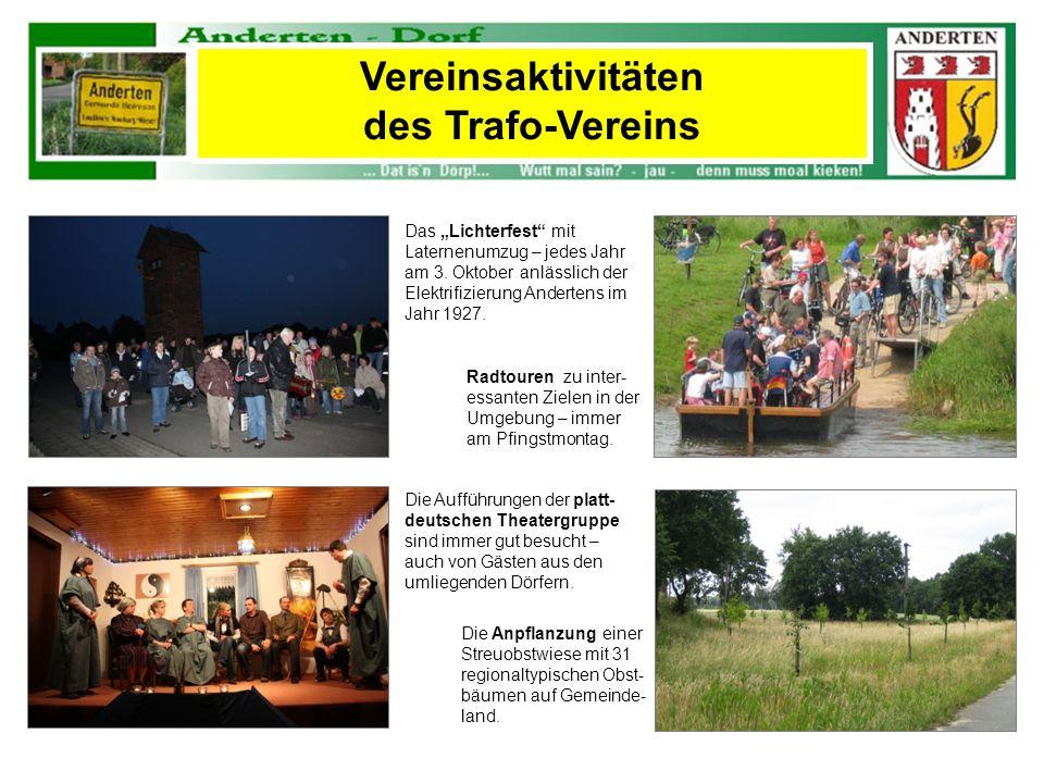 Vereinsaktivitäten des Trafo-Vereins