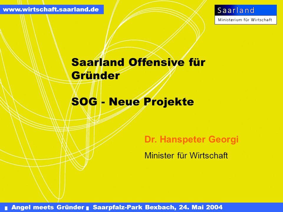 Saarland Offensive für Gründer