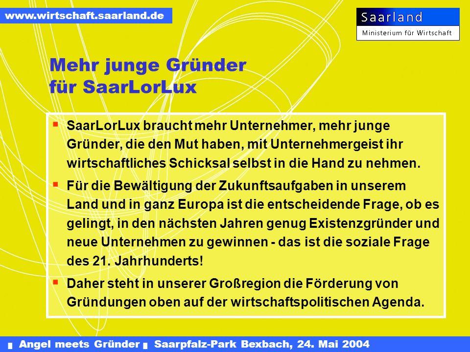 Mehr junge Gründer für SaarLorLux
