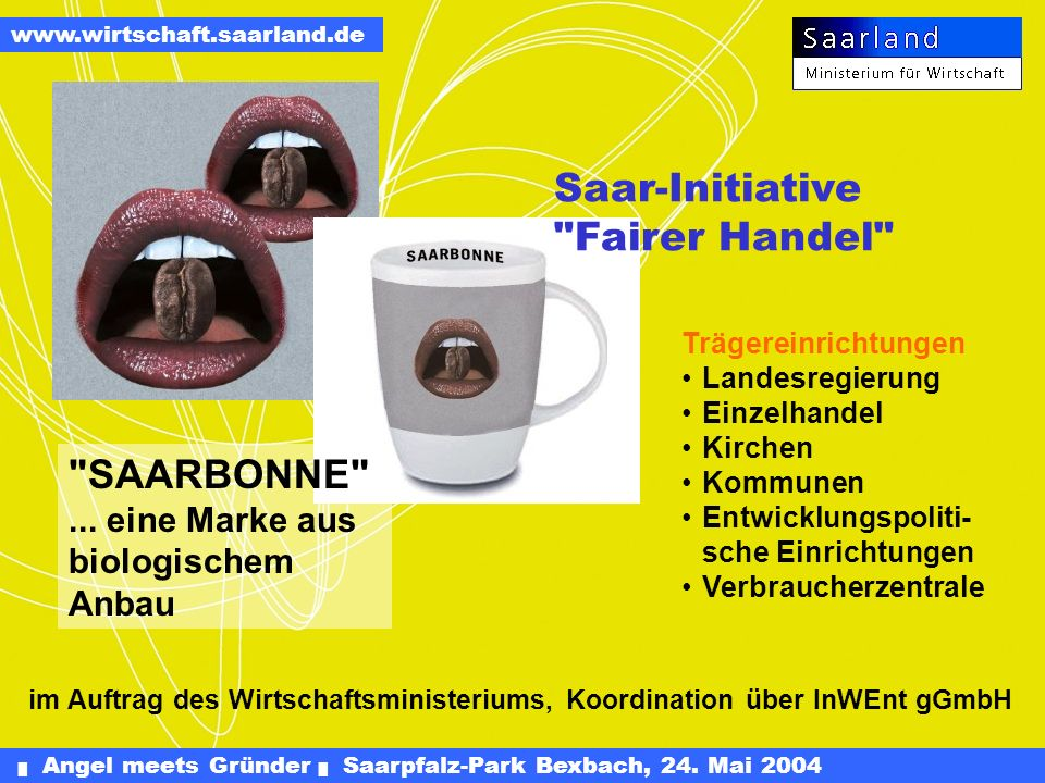 Saar-Initiative Fairer Handel