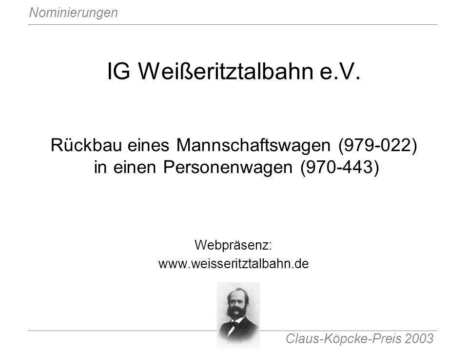 IG Weißeritztalbahn e.V.