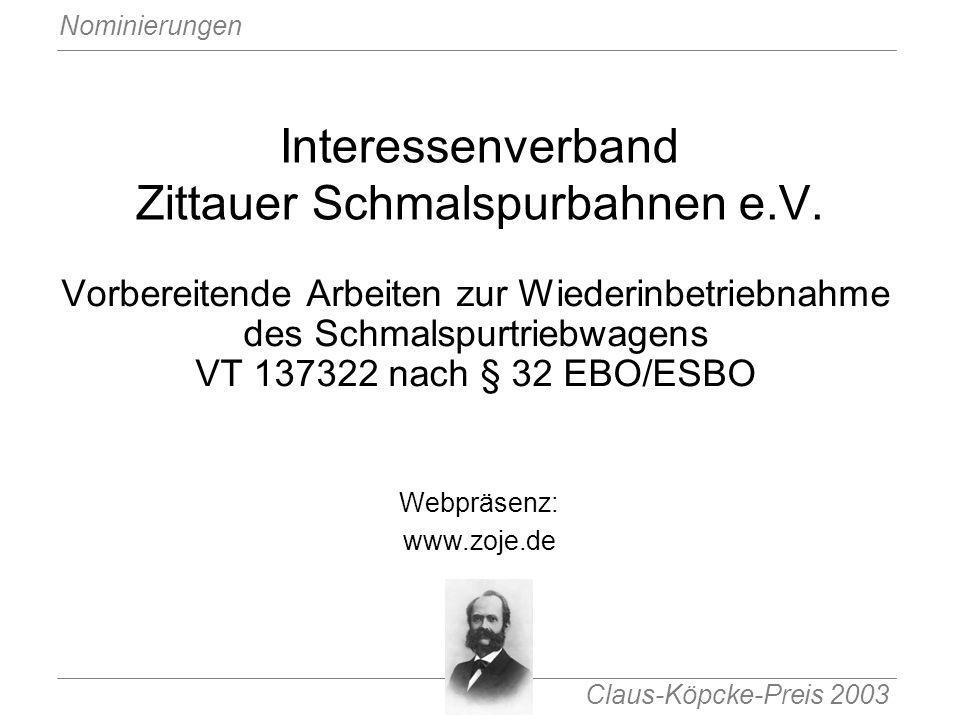 Interessenverband Zittauer Schmalspurbahnen e.V.