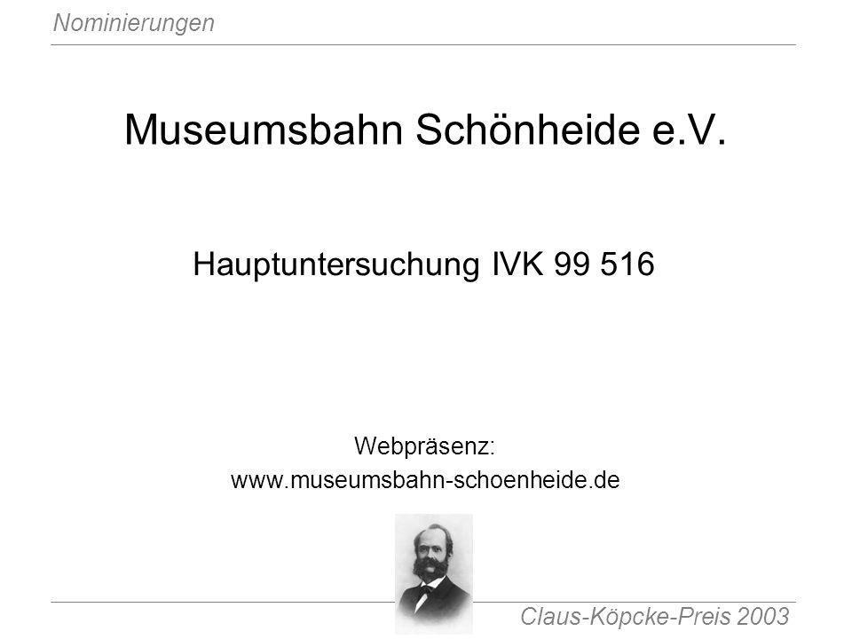 Museumsbahn Schönheide e.V.