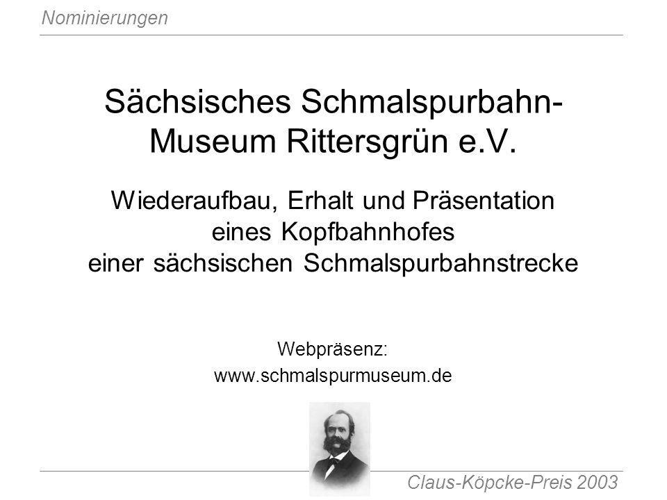 Sächsisches Schmalspurbahn-Museum Rittersgrün e.V.